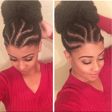 3 Afro Puff Styles For Short Natural Hair Short Natural Hair Styles Curly Hair Styles Natural Hair Styles