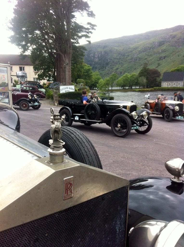 Vintage cars on tour at Gougane Barra Cork hotels, West