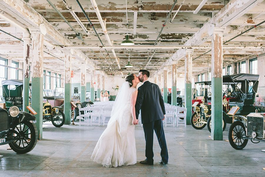 Piquette Plant Wedding Photography Detroit Photographers Michigan The Comp Points