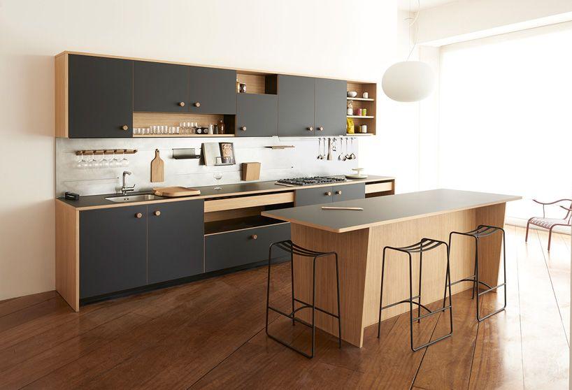 jasper morrison reveals first kitchen design for schiffini bringing his super normal aesthetic into a new arena - Normal Kitchen Design