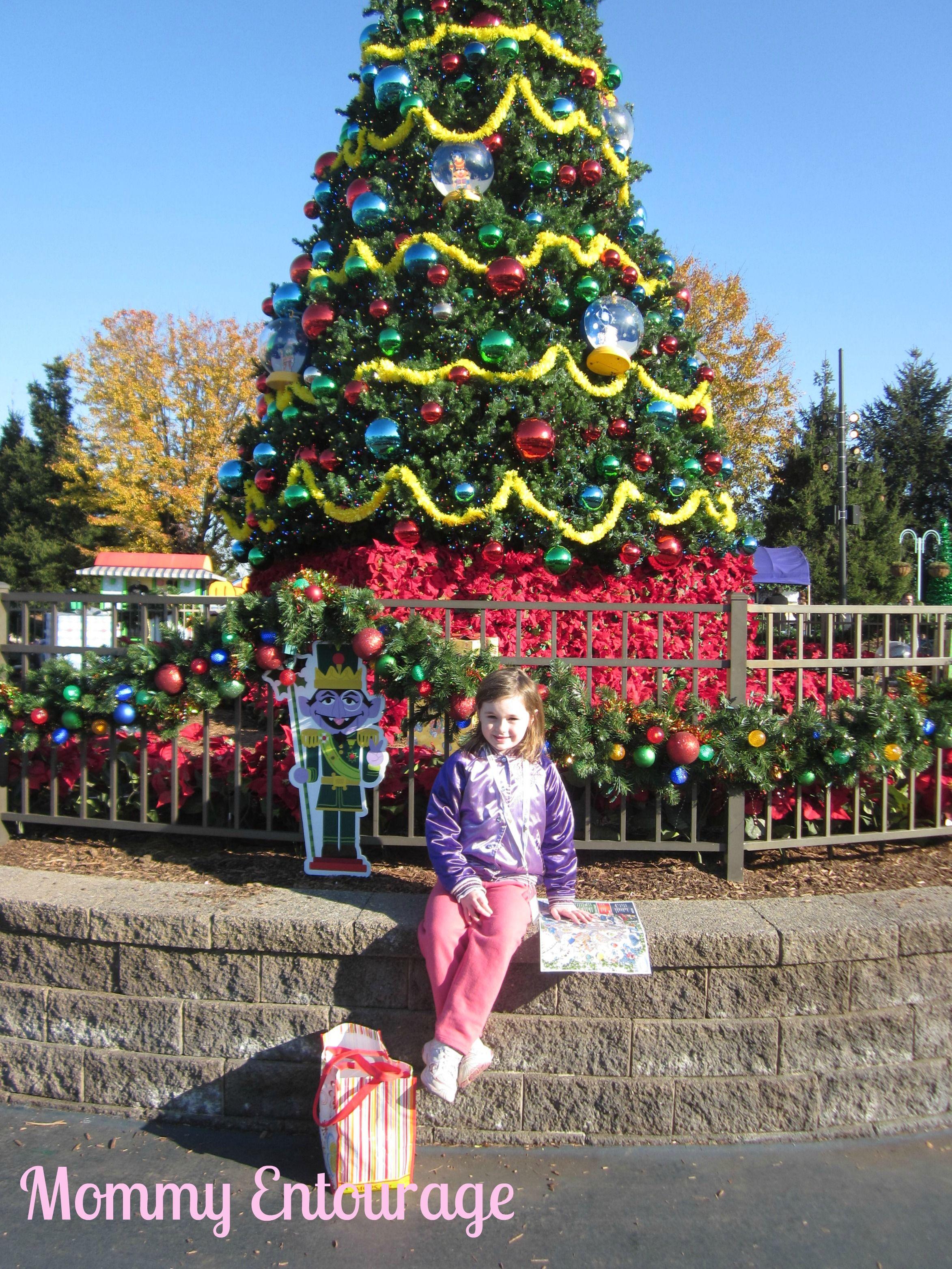 Christmas fun at sesame place mommyentourage christmas