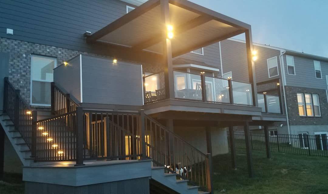 Fiberon Deck Install By All Decked Out Cincinnati S Best Deck Builder