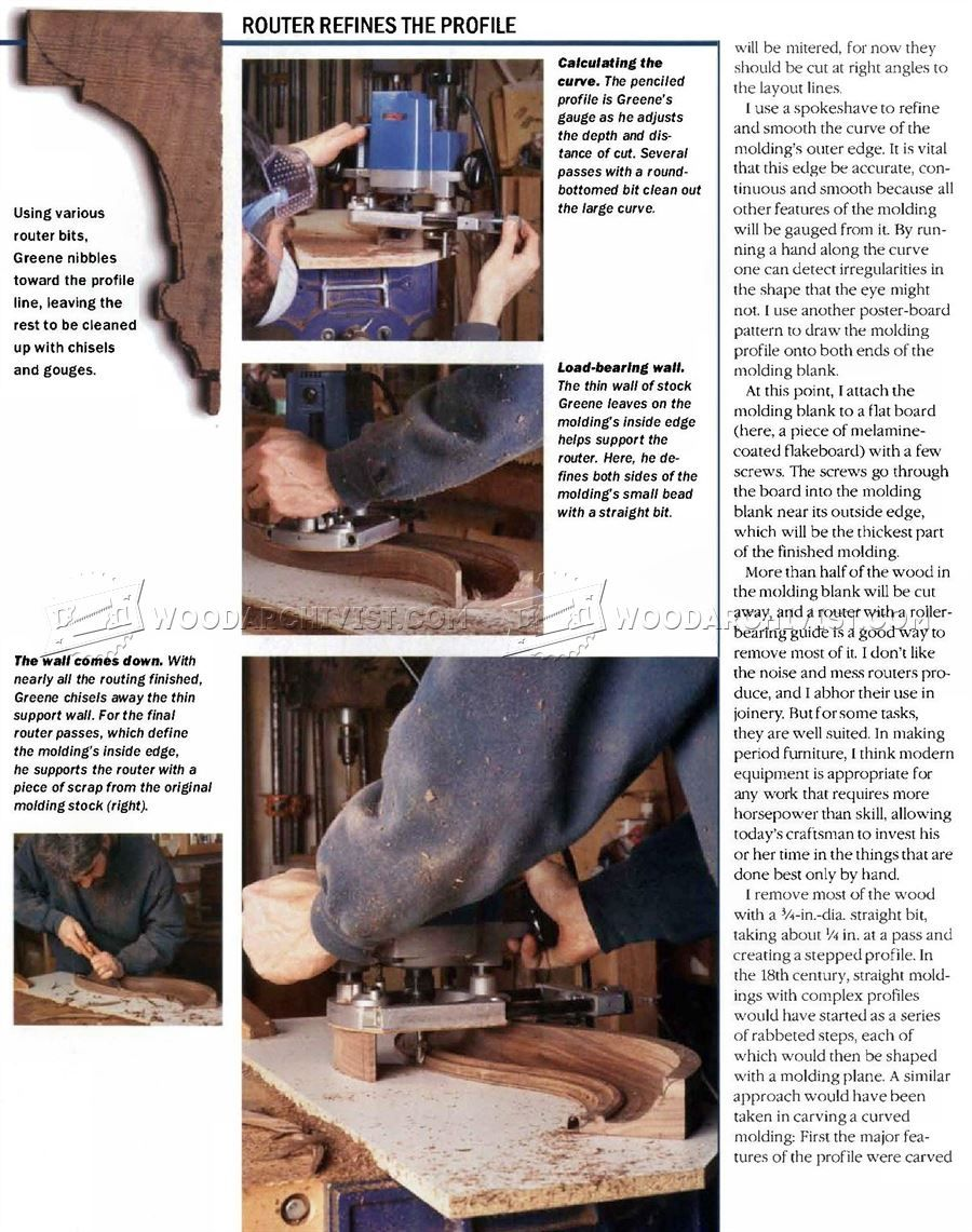 Making Curved Molding With Images Diy Woodworking Molding Woodworking