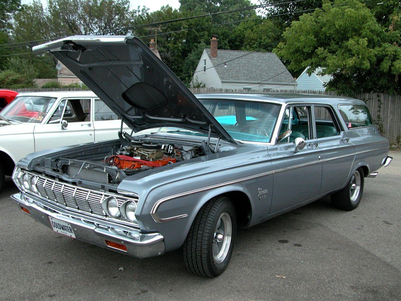 1964 plymouth fury wagon 4door left front