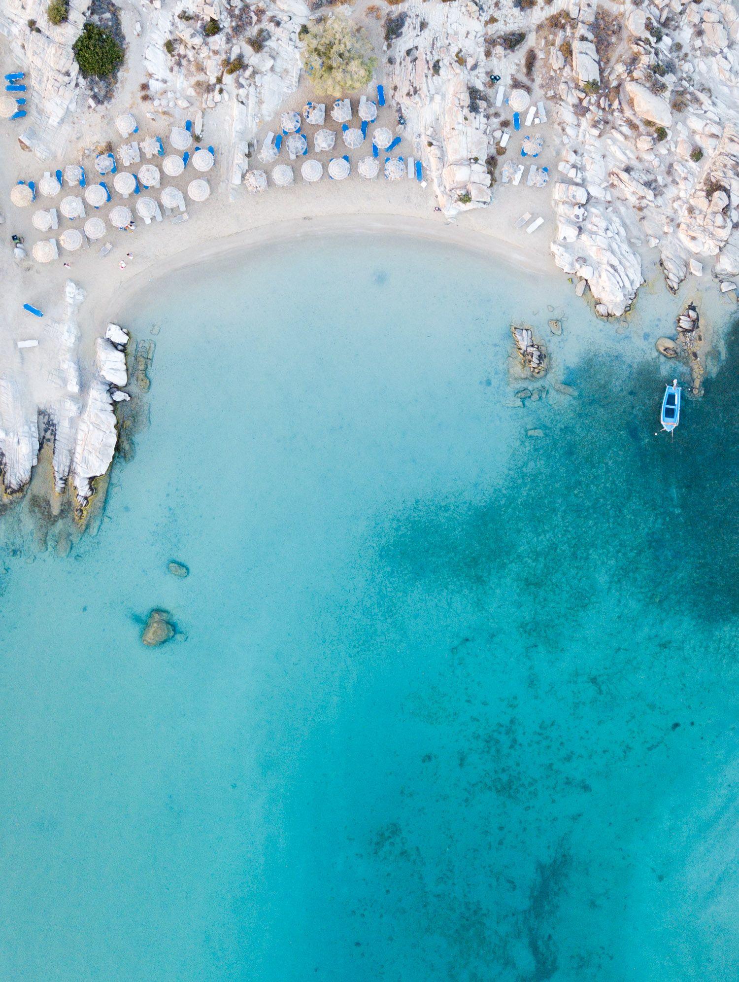 The Beautiful Beaches Of Paros Island