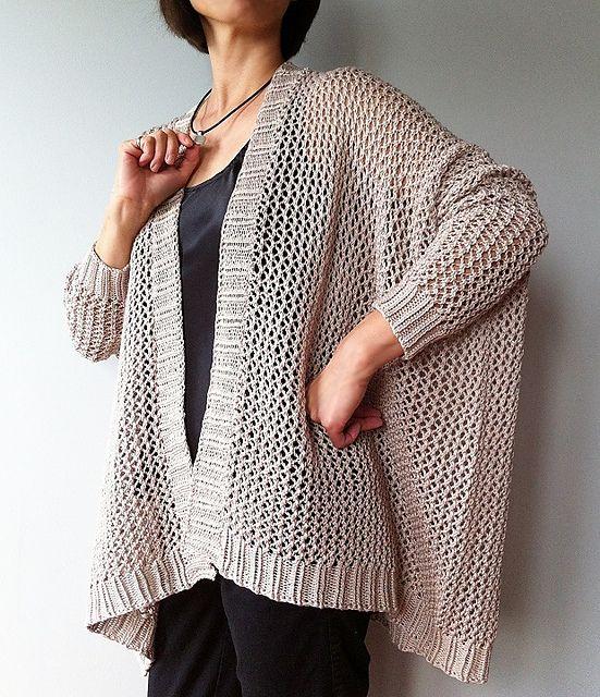 Angelina cardigan (knit) pattern by Vicky Chan | Crochet! Yes,I\'m a ...