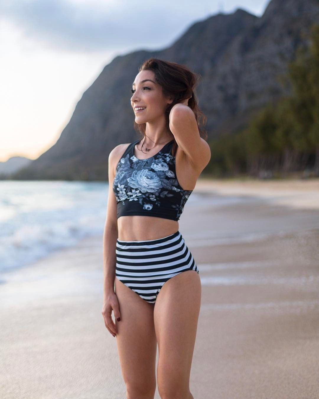 0b5ec3785f Introducing our Antigua Slate Game Change + Stripies 101 High Waisted  Bottoms. At