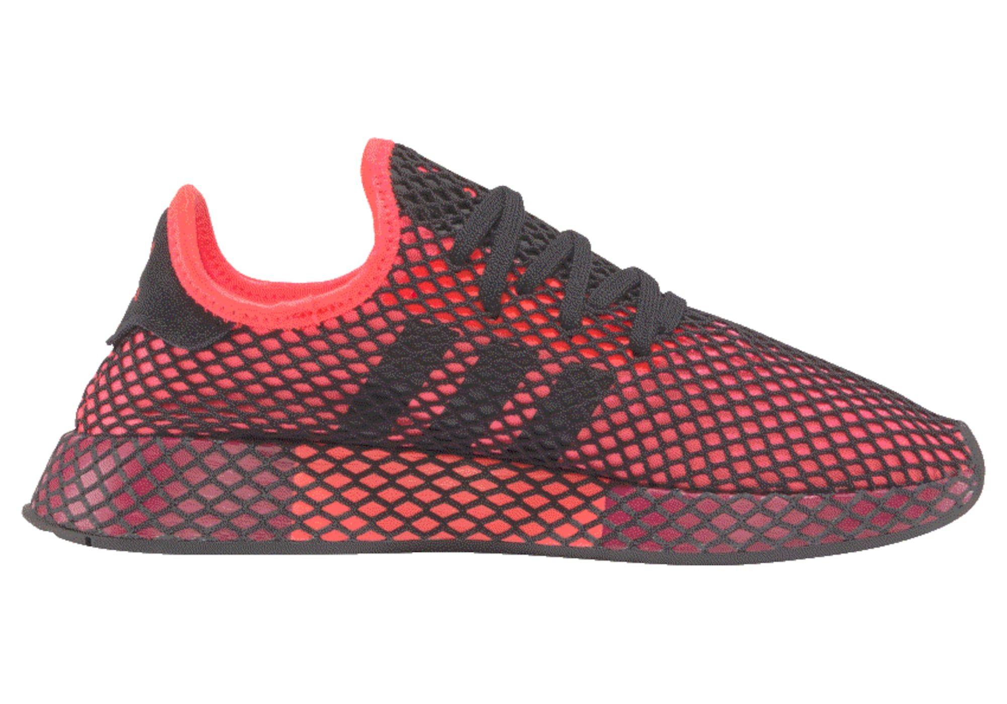 Adidas Originals Sneaker Deerupt Runner Herren Beere Hellrot Schwarz Grosse 44 Adidas Originals Sneaker Adidas Originals Sneaker