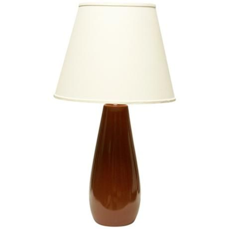 Haeger Potteries Cayenne Ceramic Tear Drop Table Lamp 02099 Lampsplus Com Lamps Pinterest