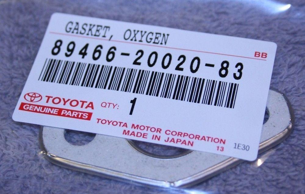 89466 20020 Oxygen Sensor Gasket Genuine Toyota Lexus Part