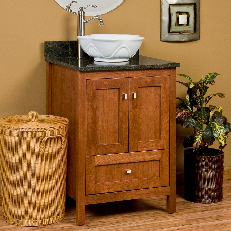 "craftsman and mission style bathrooms | 24"" Alcott Vanity ..."