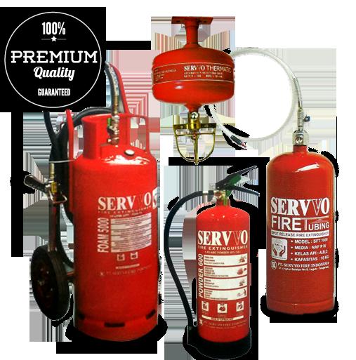 Kami distributor tabung pemadam kebakaran / APAR Servvo di