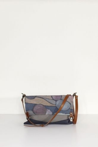 Scarf Bag - Indigo W13-042 front a