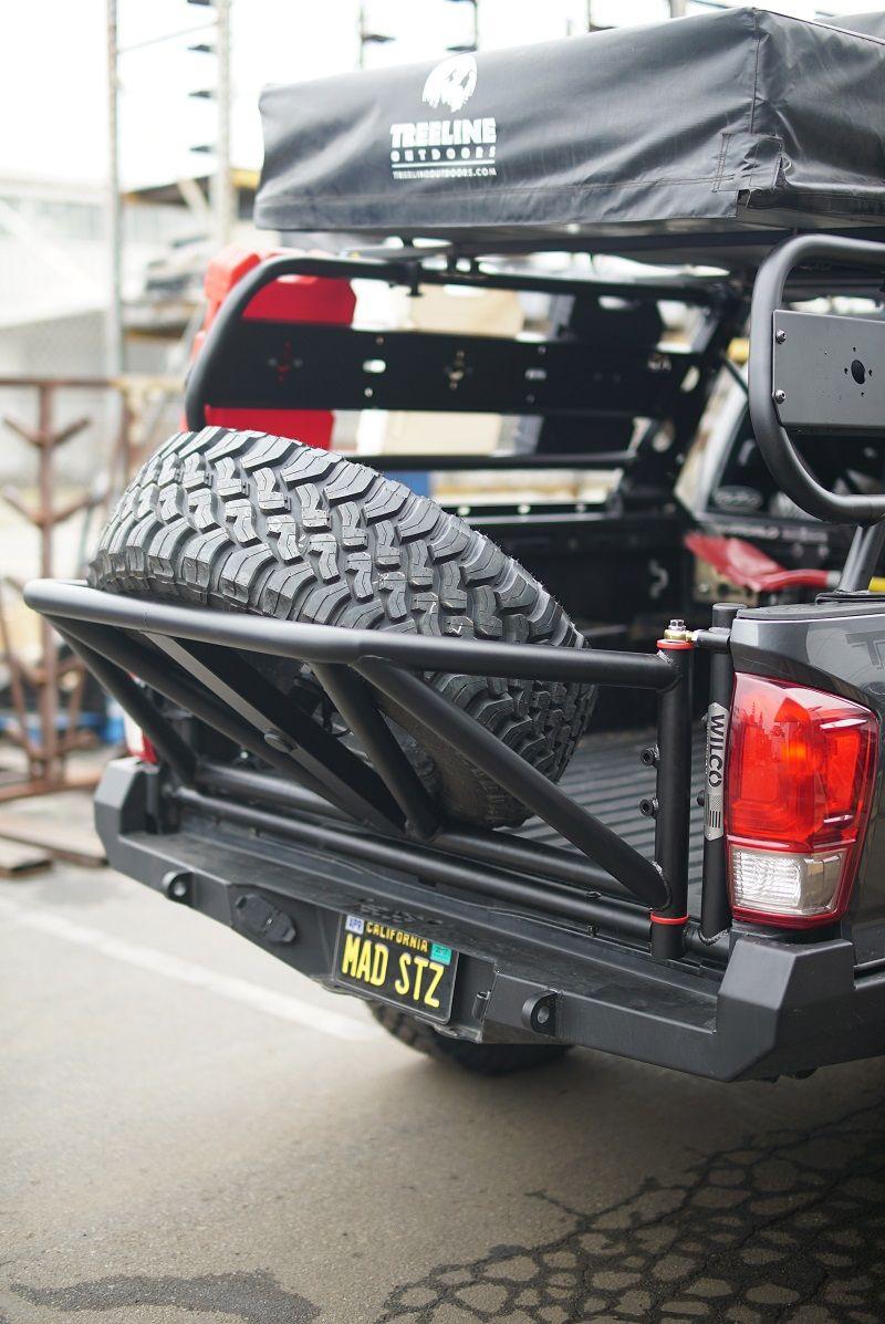 Tiregate® PreRunner Small trucks, Spare tire, Truck bed