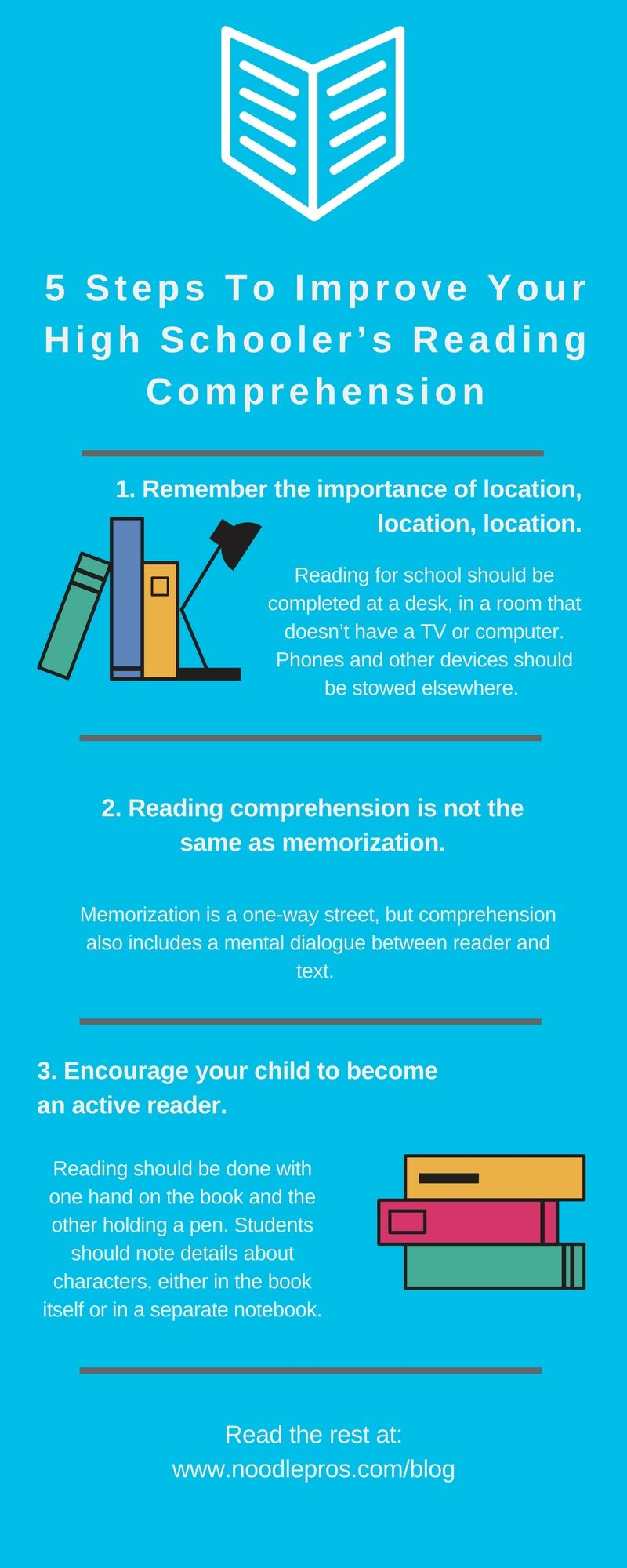 5 Steps To Improve Your High Schooler's Reading