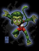 Young Justice Invasion- Beast Boy by lordmesa