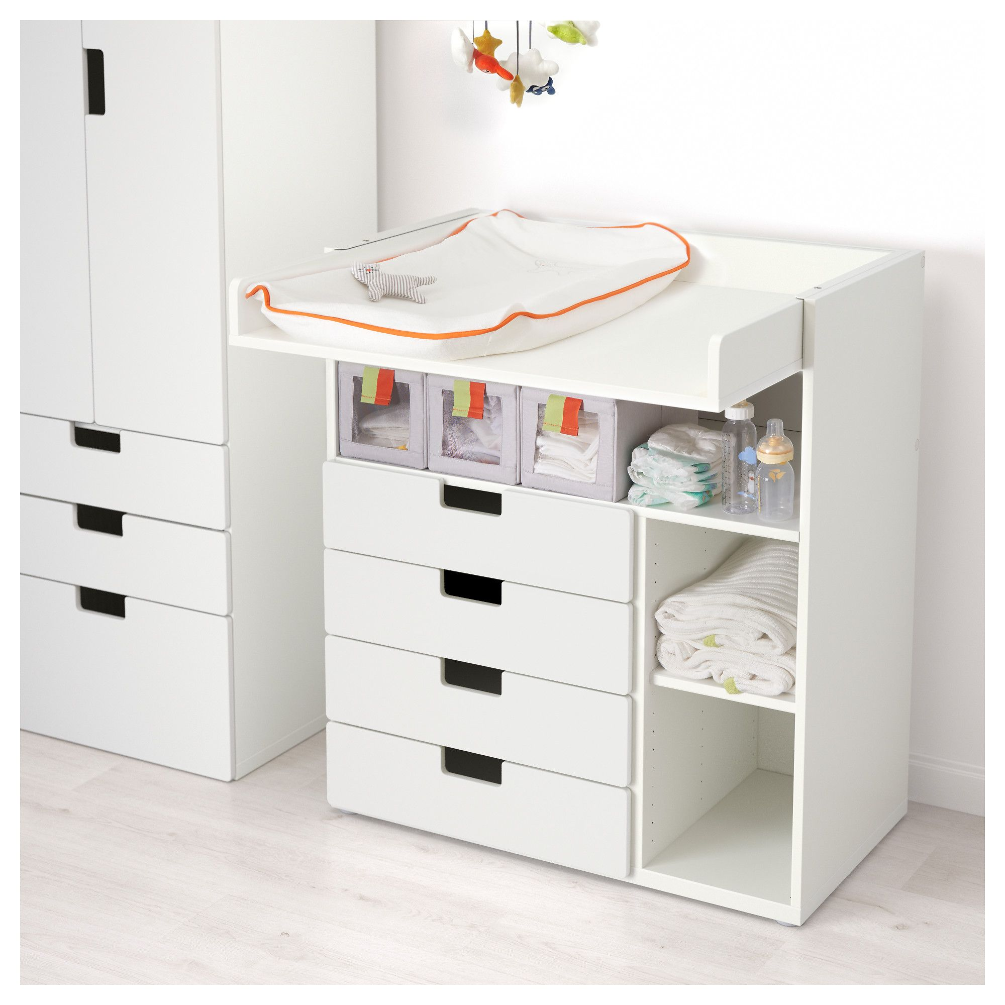craft tables drawers with dresser child drawer relaxed changing traditional