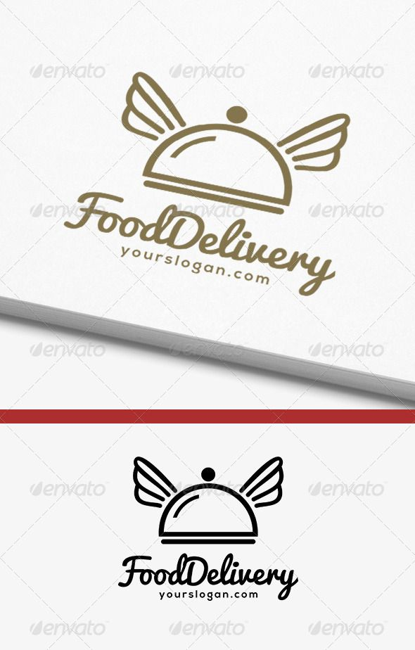 Pin By LogoLoad On Food Drink Logos Pinterest Logos Delivery - Logo layout templates