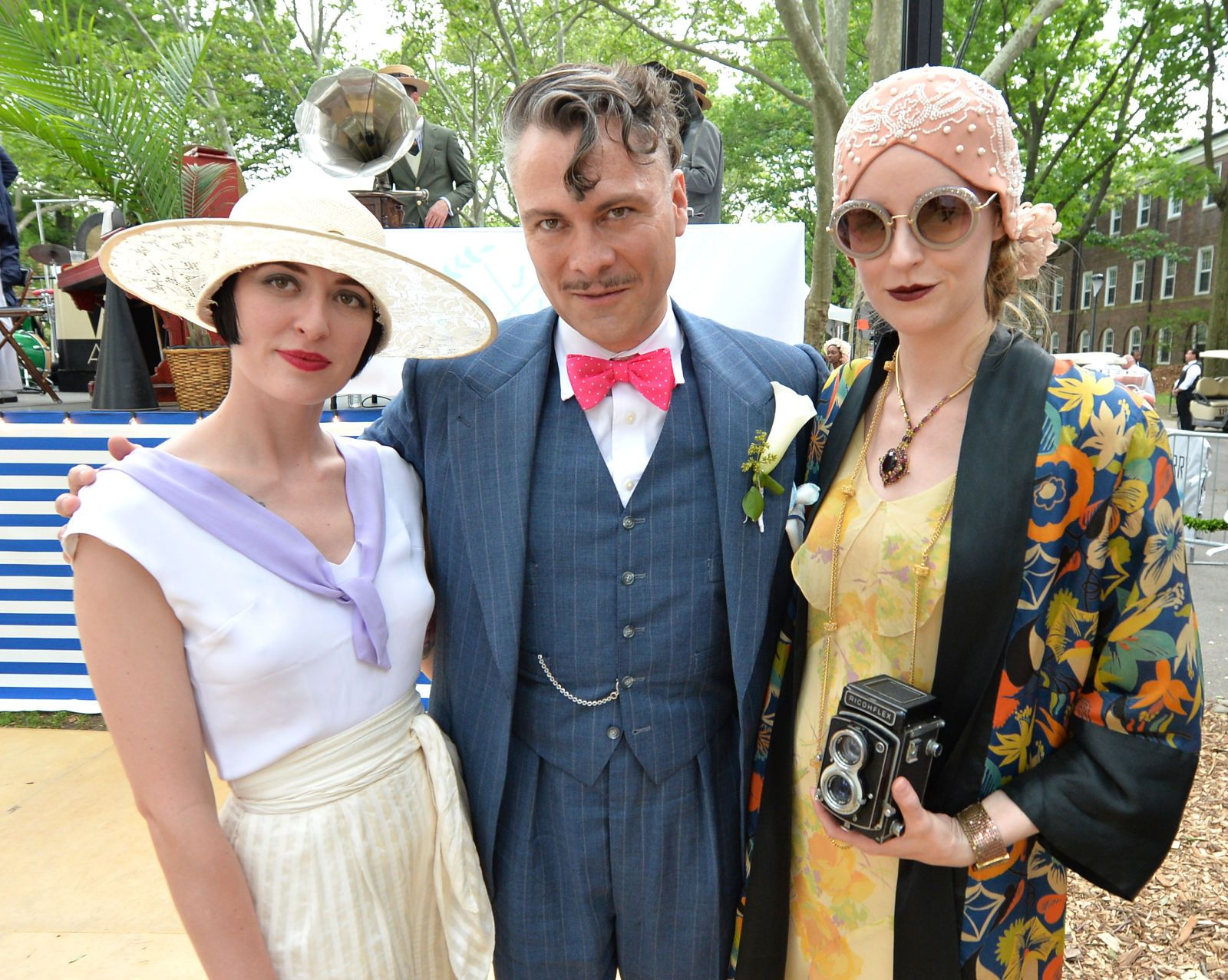 The Prettiest Vintage Looks From New York's Jazz Age Lawn Party is part of lawn Party New York - This weekend New Yorkers stepped back in time to party like it was 1925