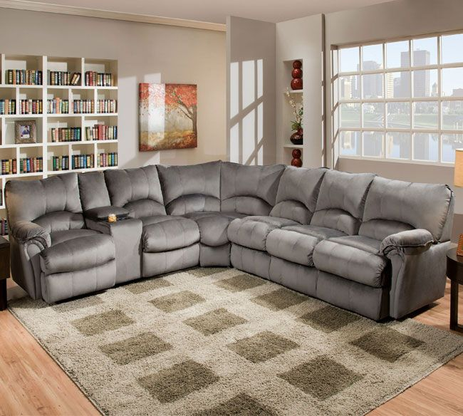 Lane 204 Alpine Sectional Group Reclining Sectional and