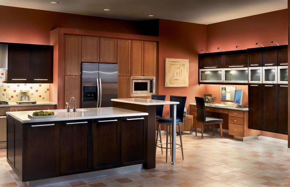 One Of Many Design Ideas For Your Kitchen From Kraftmaid Cabinets Available At Zeeland Lumber