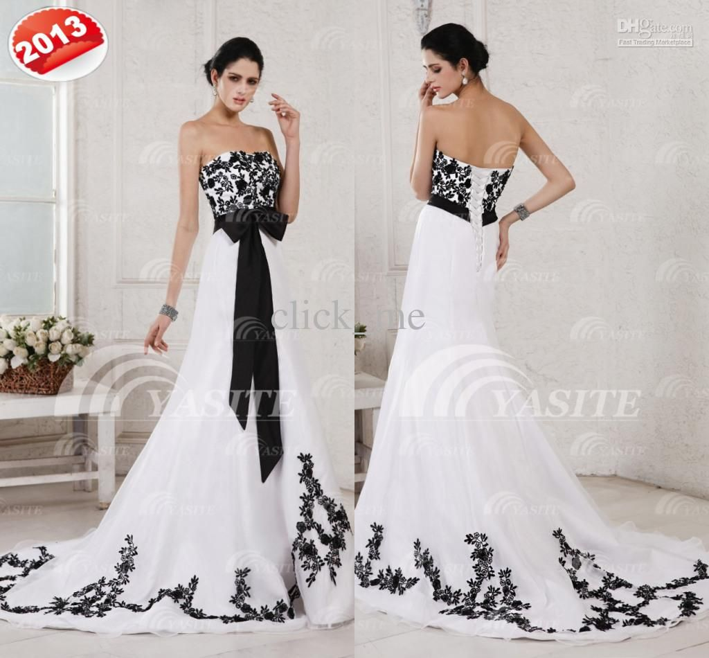 Black and white polka dot bridesmaid dresses red white and black