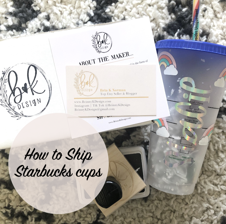 Selling On Etsy Coaching And Free Resources Brinny K Design In 2020 Starbucks Cups Starbucks Personalized Starbucks Cup