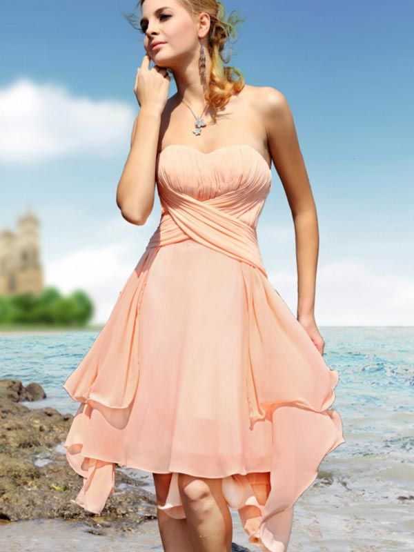 pretty   Bridesmaid dresses   Pinterest   Summer dresses, Beach ...
