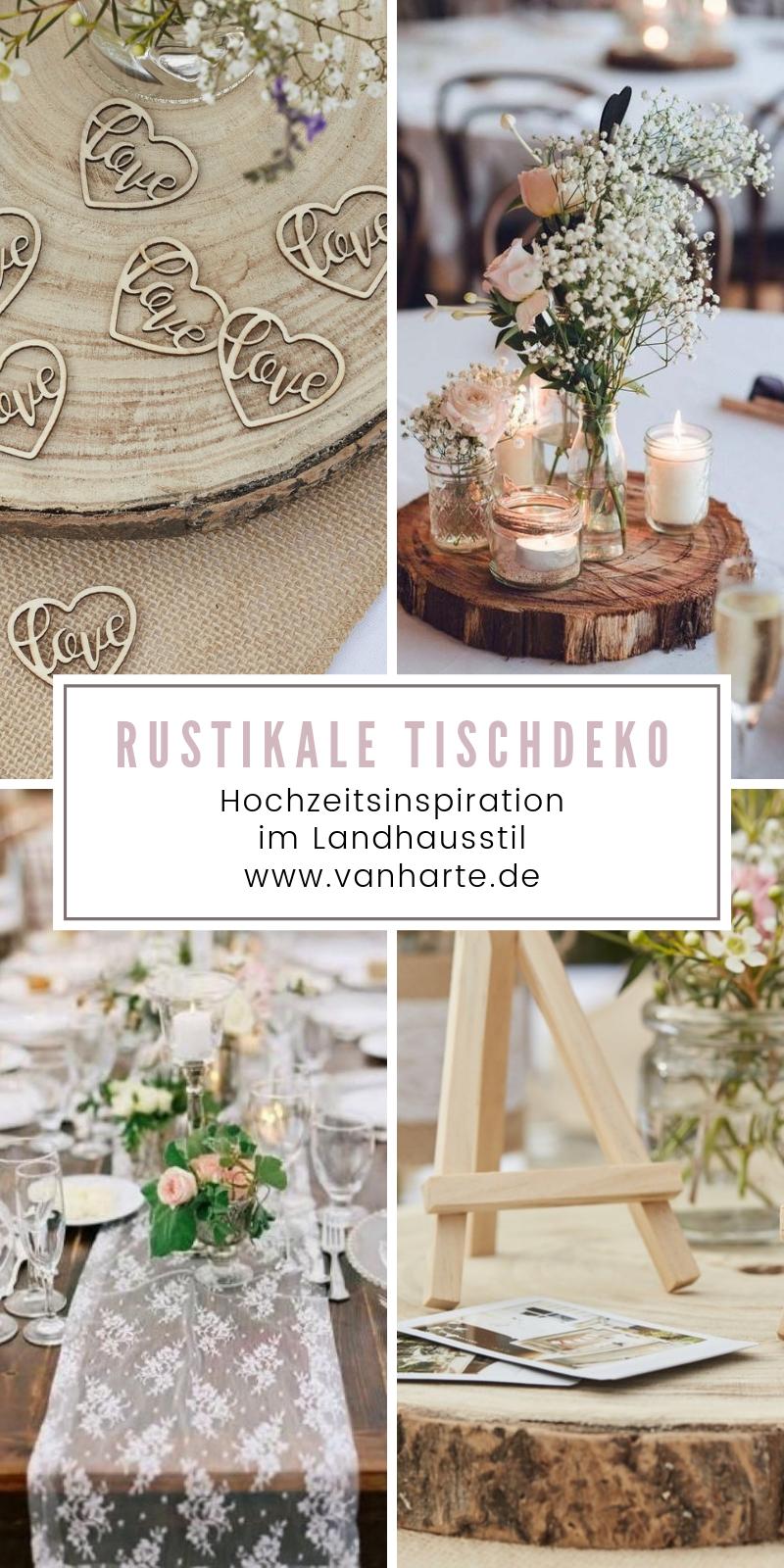 Photo of Rustikale Tischdeko im Landhausstil | Blog di van harte