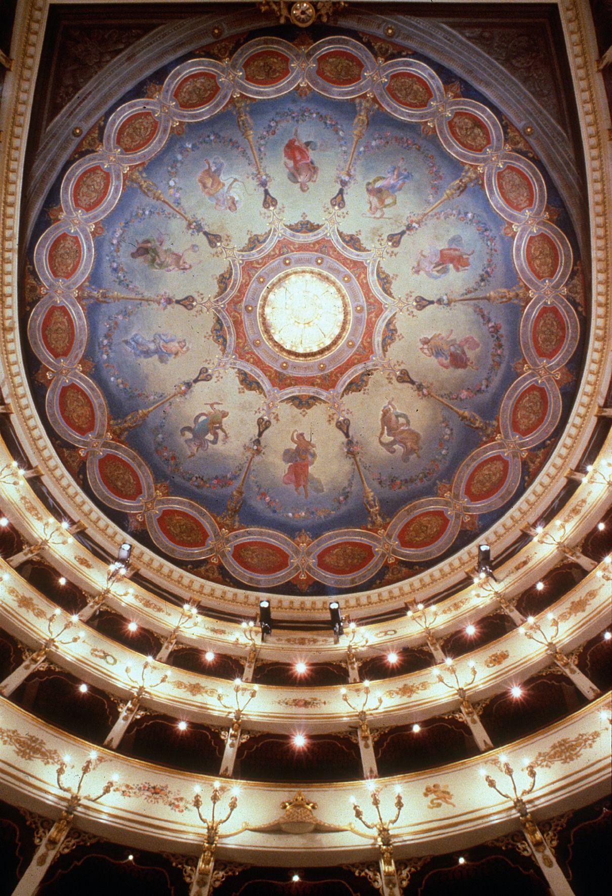 teatro rossini pesaro (With images) | Pesaro, Opera house ...
