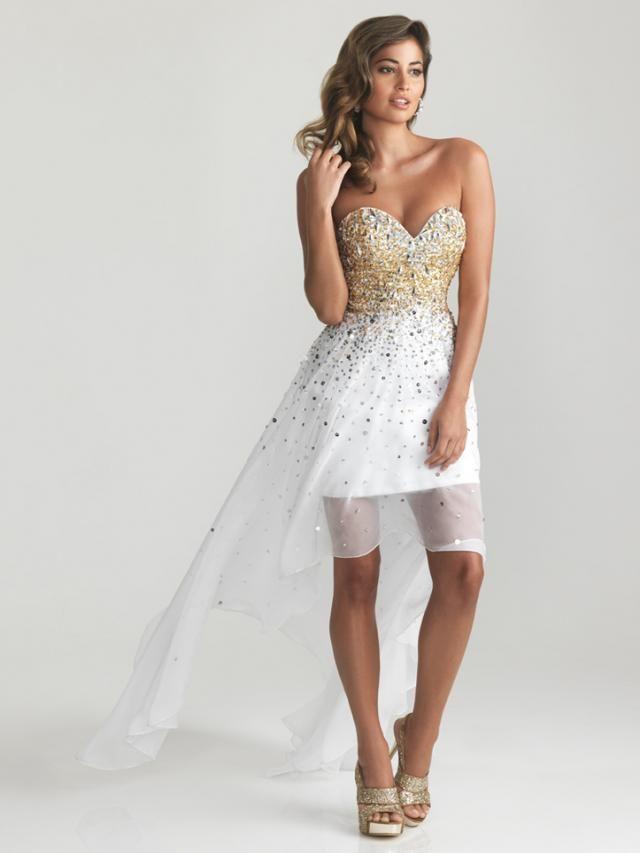 vestidos de blanco para boda | prom | Pinterest | Vestidos de blanco ...