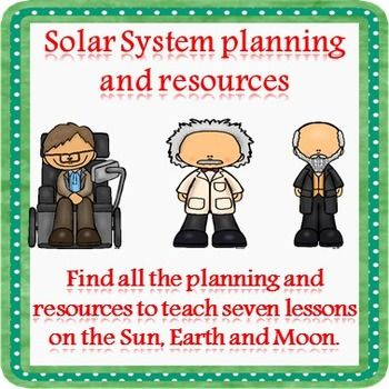 Teach children all about the Sun, Earth and Moon with this block of differentiated lesson plans and resources.These seven lessons take children on a journey from the developing understanding of the Solar System models to writing their own reports. Lesson One - Reading comprehension task learning about the geocentric and heliocentric modelsLesson Two - Developing understanding of the Earth's orbitLesson Three - Developing understanding of the Earth's orbit and rotationLesson Four - Developing…