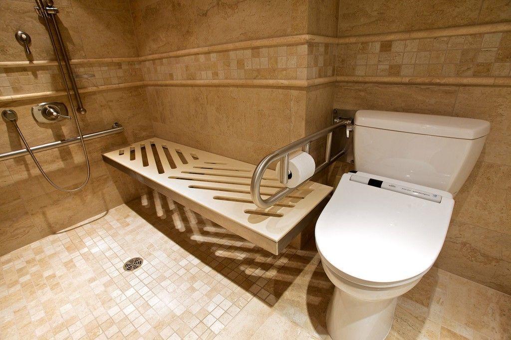 Accessible Bath Small Bathroom Master Bathroom Shower