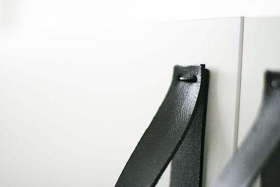 DIY - läderhandtag.