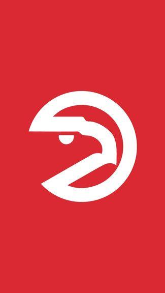Atlanta Hawks IPhone Logo Wallpaper