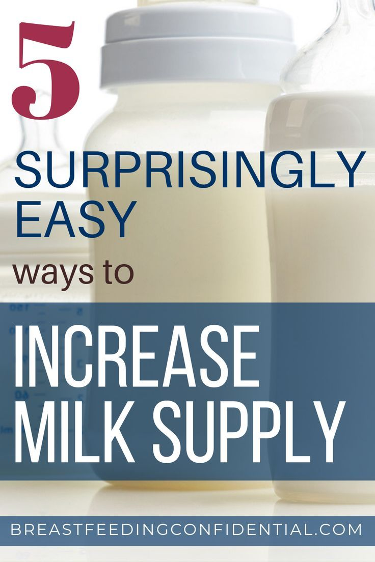 Essential Steps to Have a Good Milk Supply What is the magic recipe to increase milk supply? Do cookies, smoothies, and teas really work? These are the best tips that will help nursing mothers increase their breastmilk supply.