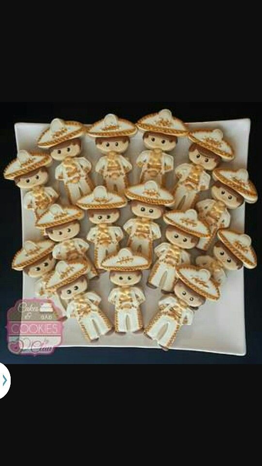 Charro Cookies Baptism Ideas For Ralphie Birthday