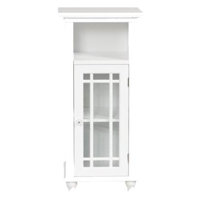 Neal Floor Cabinet - White (Target online - $80.99) - Again, wrong color and just slightly too wide..