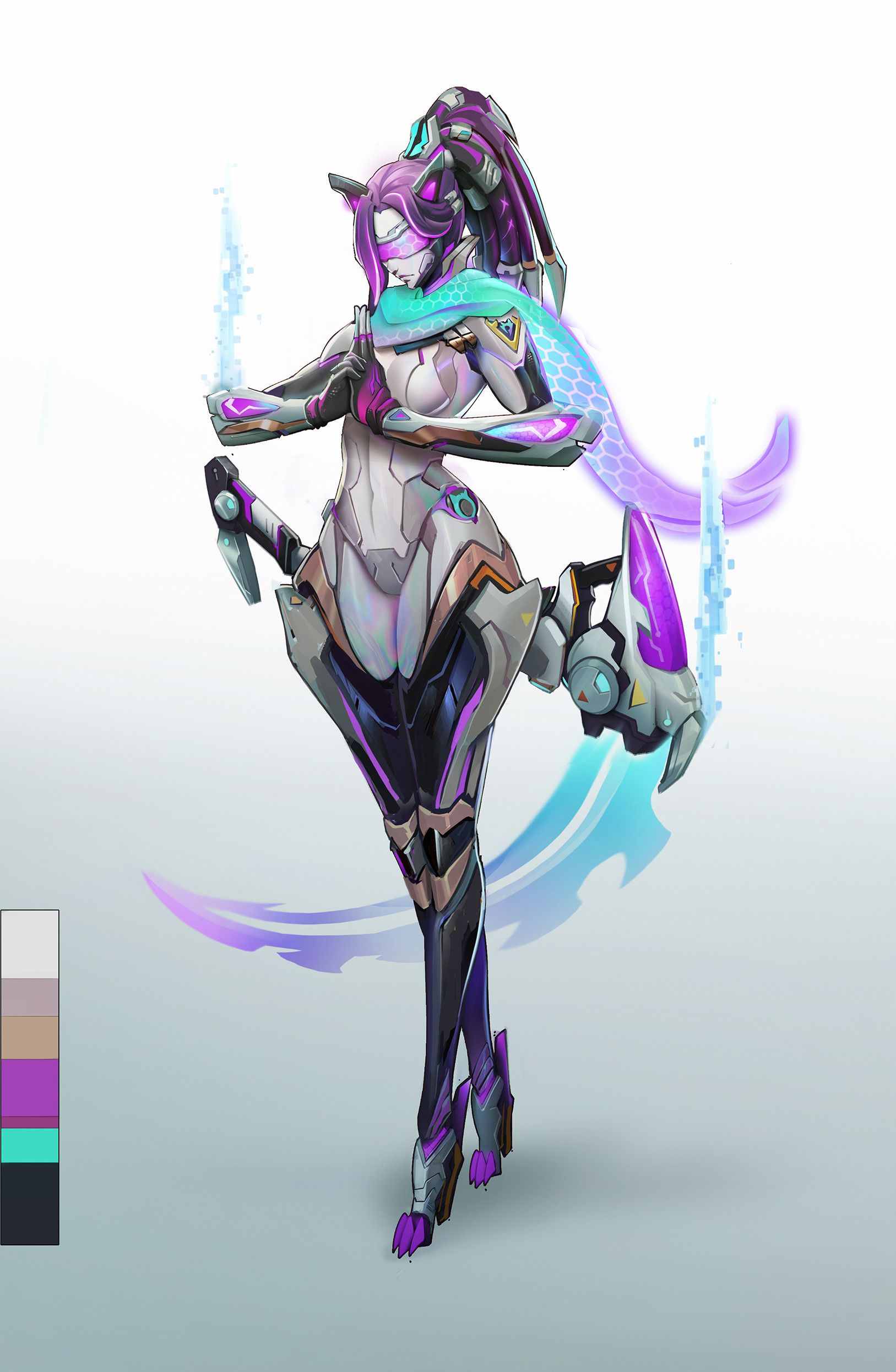 ArtStation Ninja , . 逸 Fantasy character design