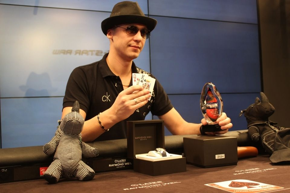 Latvian player became the Greatest Poker Player in the Universe