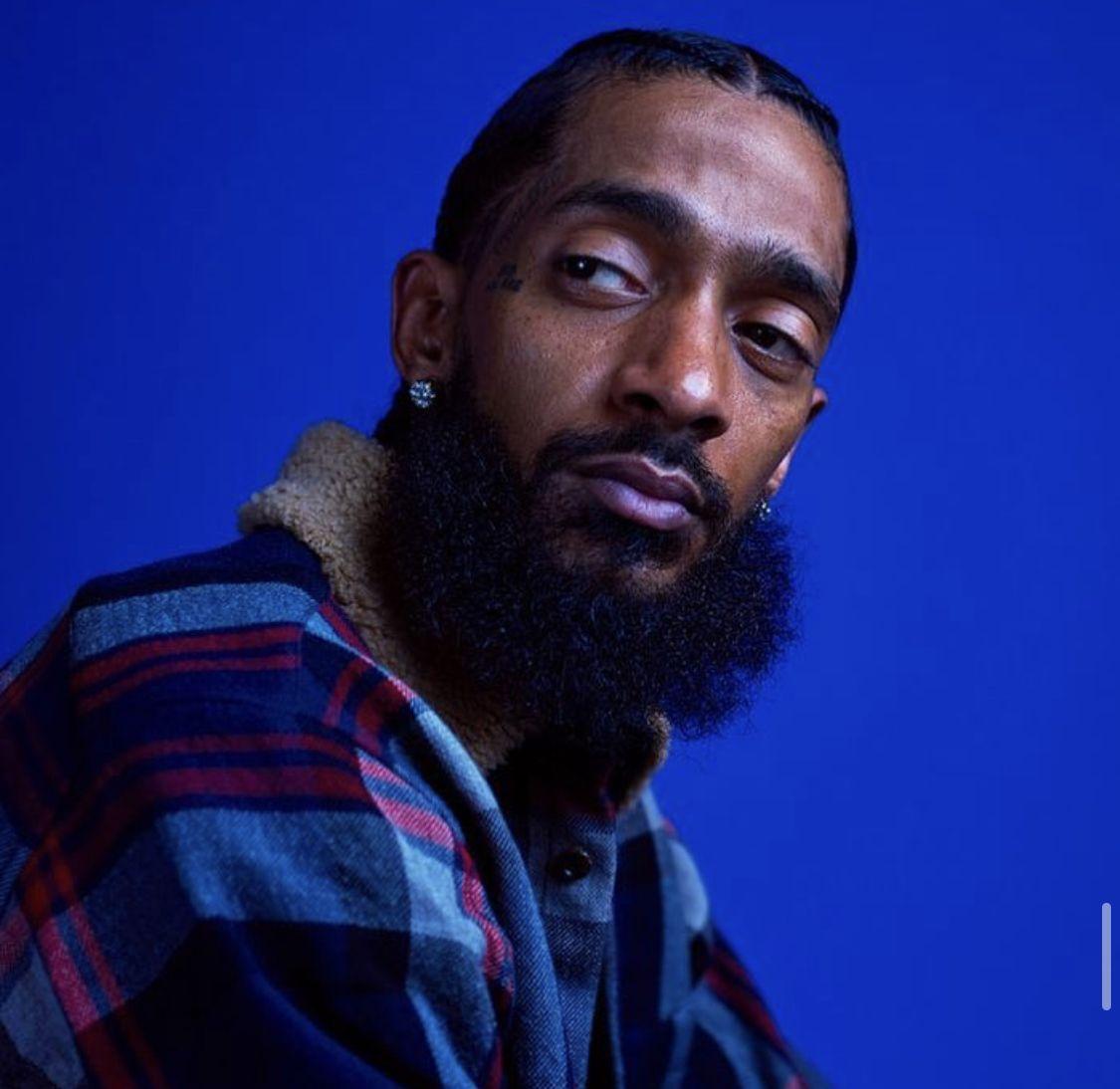 Pin by ᎶᎥᎶᎥ on ࿔ blue ࿔ Lauren london nipsey hussle, Rap