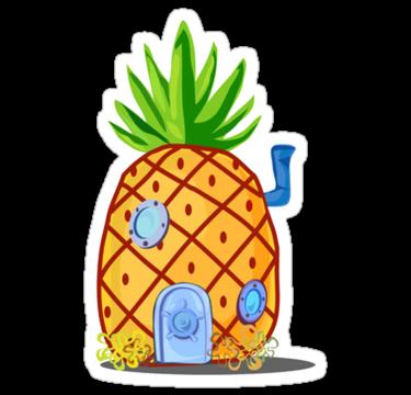 home sweet pineapple - hall dec | Pegatinas bonitas