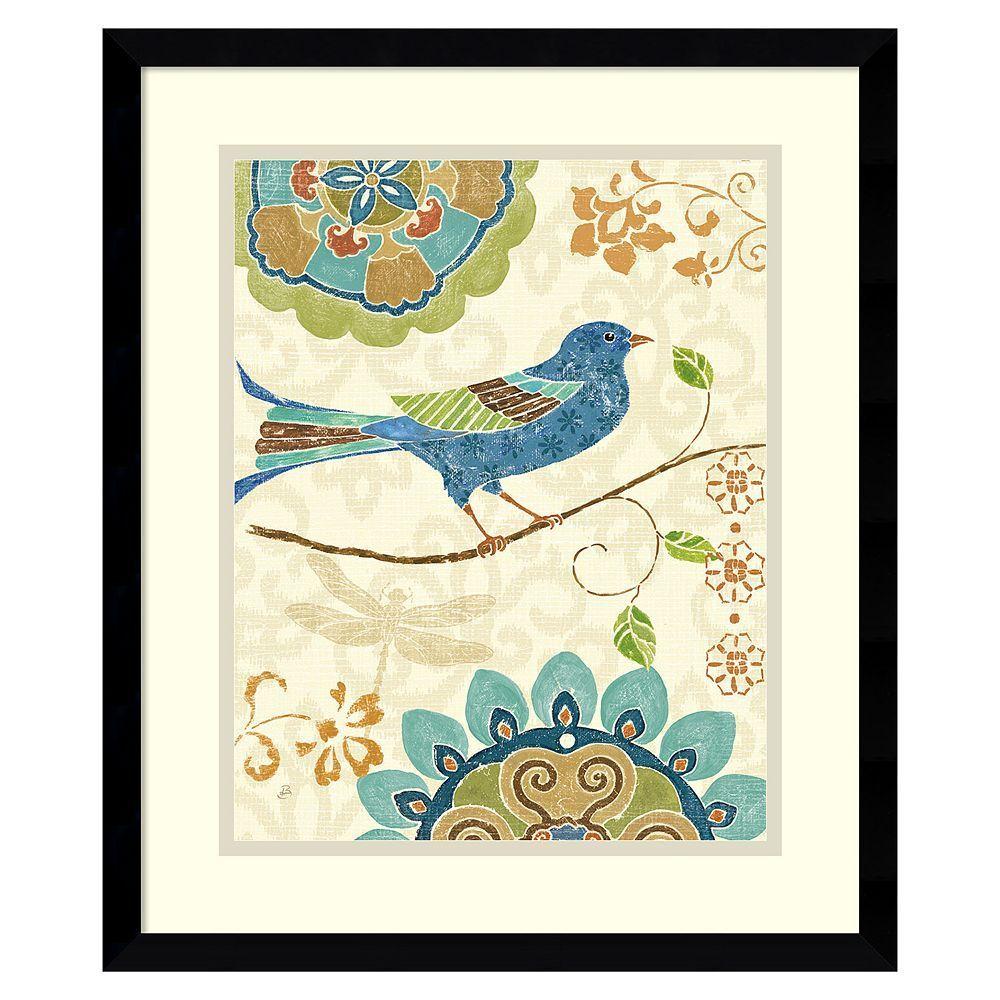 Eastern tales birds iuu framed wall art black framed wall art and