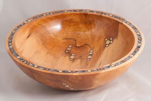 Inlayed bowl