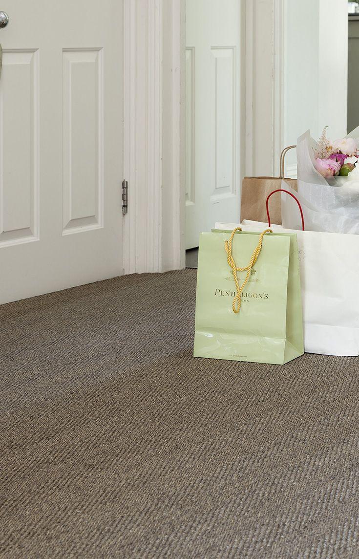 Herringbone Sisal Carpet In A Hallway Sisal Carpet Herringbone
