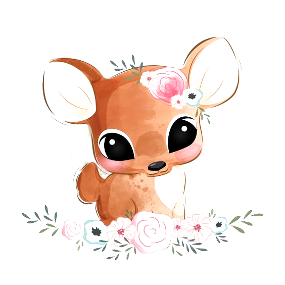 Baby Animal Cute Newborn Baby Shower Character Kids Children In
