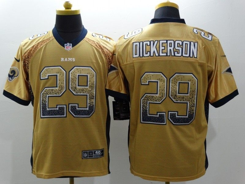 St. Louis Rams  29 Eric Dickerson Drift Fashion Elite Jerseys  e18f74aca
