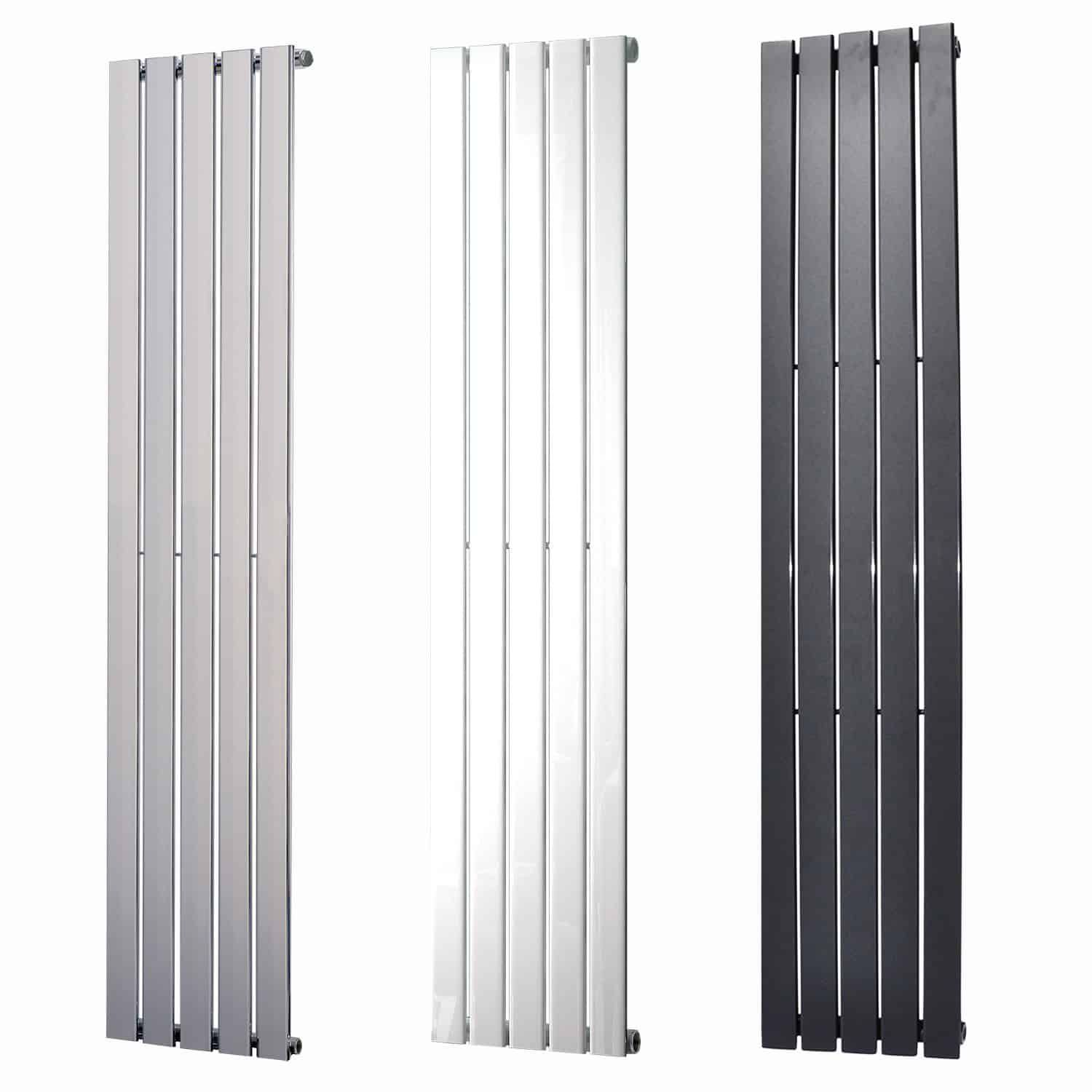 Navi vertical decorative wall mounted radiator for white in