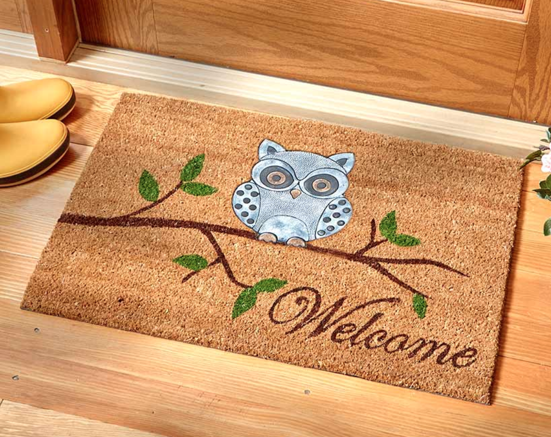 The Lakeside Collection Lake Life Coir Doormats