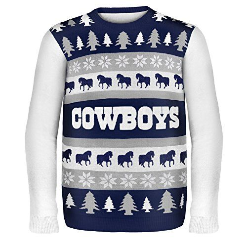 NFL Dallas Cowboys One Too Many Ugly Sweater b83a159ca